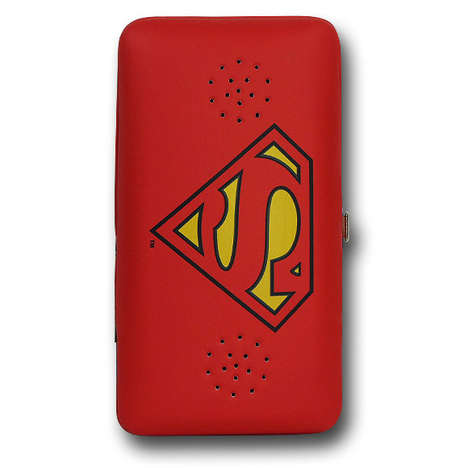 Sound-Emitting Superhero Wallets