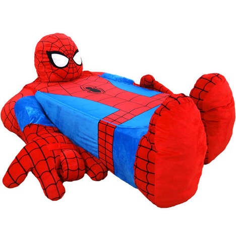 Gigantic Superhero Bed Spreads