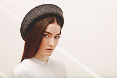 Chic Conservative Fashion Captures - The 'Amish' Fashion Series Incorporates Neutral Ton