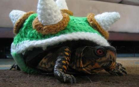 Crocheted Turtle Costumes