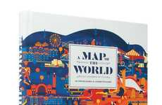 Artfully Inaccurate Maps - The 'A Map of the World' Book is a Collection of Strange Maps