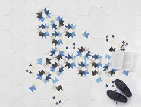 Kaleidoscopic Floor Tiles