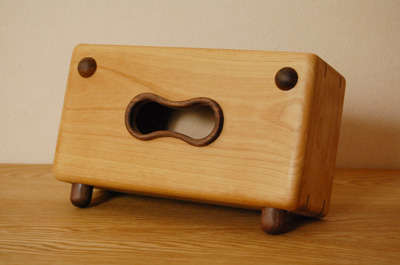Personified Wooden Tissue Boxes