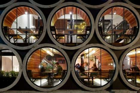 Concrete Pipe Accommodations - The Prahan Hotel by Techné Architects is Luxuriously Industrial