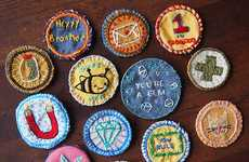 DIY Merit Badges - Julie Schneider's Make Your Own Merit Badge Tutorial is Simple