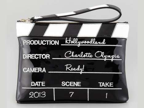 Movie Slate-Inspired Clutches