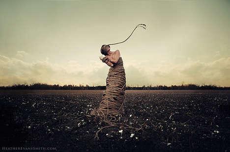 Surreal Female-Focused Shots