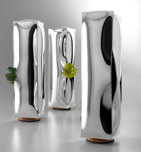 Water-Shaped Plant Holders