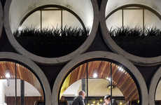 Barrel-Inspired Hotel Bars - The Prahran Melbourne Hotel Takes Inspiration From Liquor Barrels