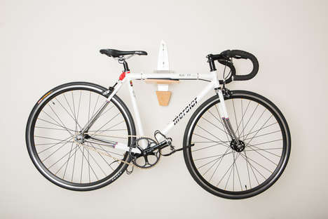 Sleek Bicycle Wall-Mounts