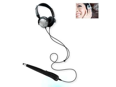 Music-Playing Bluetooth Styluses