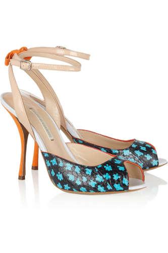 Playfully Vibrant Heels