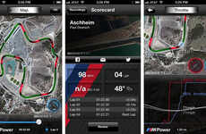 Speed-Enhancing Auto Apps - The M Power App by BMW Help Auto Keep Track of Driving Data