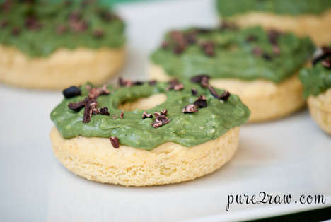 Sweet-and-Savory Donuts - The Avocado Donut is a Healthy Gluten Free Dessert