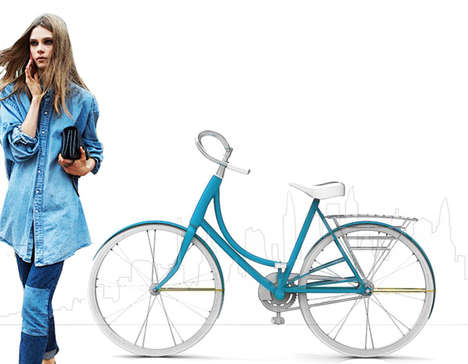 Fashion-Friendly Bicycles - The Fluxa Bike is Designed to Meet the Needs of Stylish Women