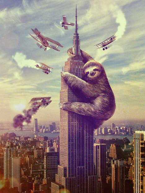 Monstrous Marsupial Posters