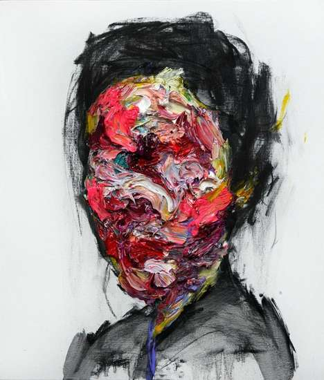 Colorful Faceless Paintings