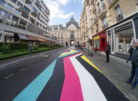 Vibrant Literal Street Art
