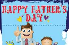Dad-Appreciating Infographics - The 'Why We Need Dads!' Father's Day Infograph Celebrates Great Dads