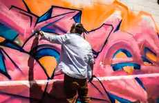 Continuous Street Art Shoots - Watch Sofles Tagging Live in Action in the Infinite Graffiti Video