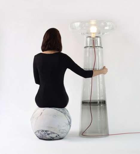 Transparent Tower Lamps