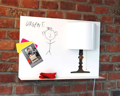 Light-integrated White Boards