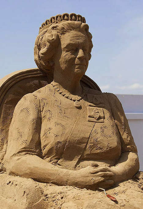 Royalty Inspired Sand Sculptures