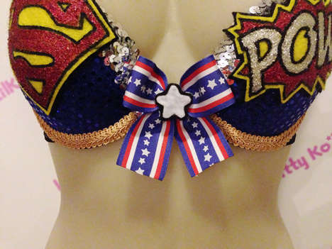 This Superman-Inspired Bra Pays Tribute to the Iconic Man of Steel