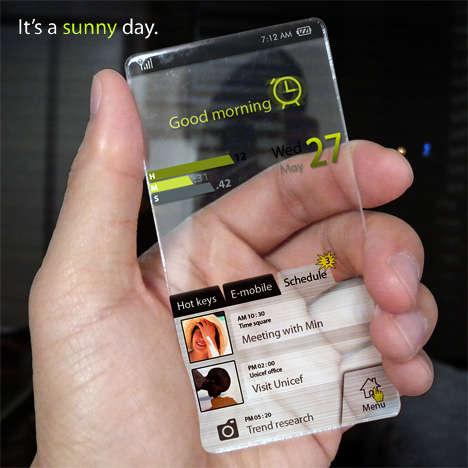 46 Transparent Tech Devices