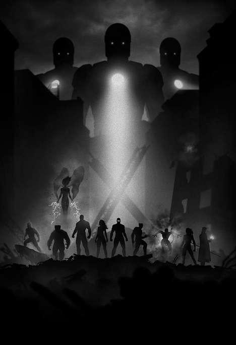Noir Comic Book Designs