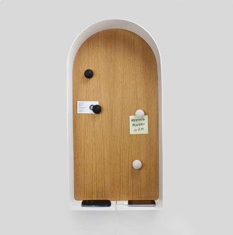 Curved Door-Inspired Boards