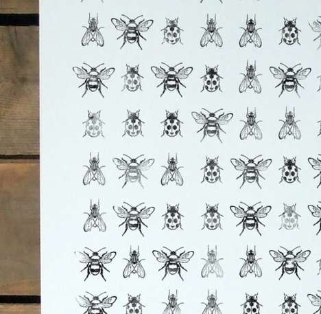 Eco Insect-Inspired Illustrations