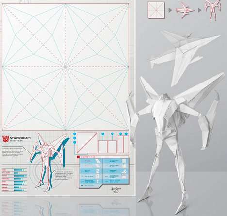 Origami Toy Ads