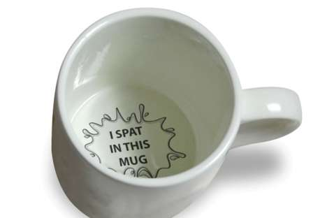 Upsetting Message Mugs