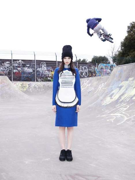 Feminized Skatepark Lookbooks