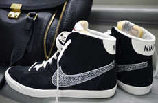 DIY Crystal-Encrusted Kicks