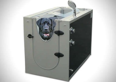 Sleek Puppy Shower Units