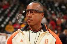 Video-Recording Referee Glasses - The Ref Cam by Broadcast Games Inc. Gives Fans a New Perspective