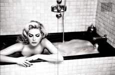 Steamy Icon-Inspired Editorials - These Marilyn Monroe-Inspired Photos Feature Retro Glam Looks