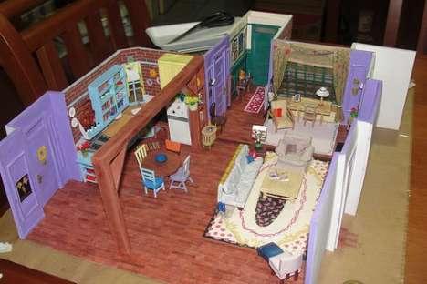Detailed Sitcom Dioramas