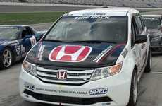 Race-Ready Minivans - The Pikes Peak Honda Odyssey is Set to Conquer the Iconic Hill Climb