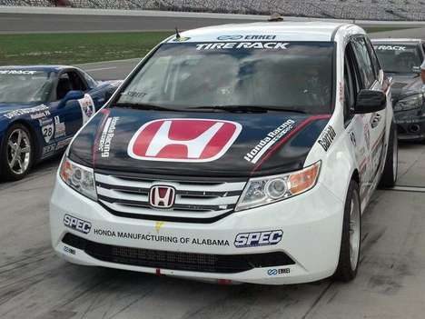 Race-Ready Minivans