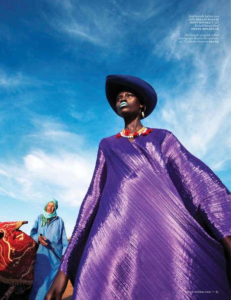 Haute Couture Safari Fashion