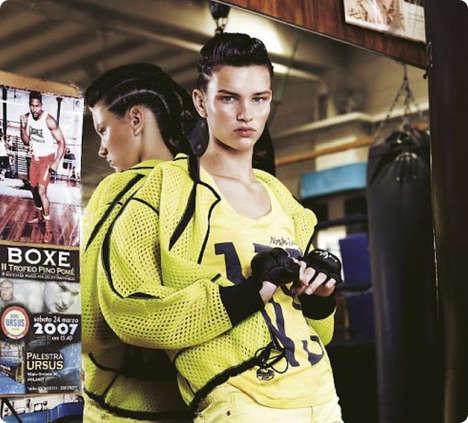 Androgynously Athletic Fashion