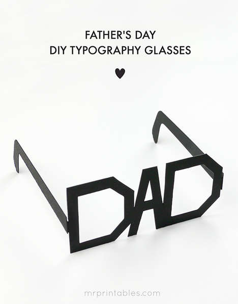 DIY Dorky Dad Glasses