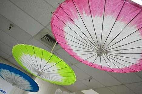 DIY Tip-Dyed Parasols