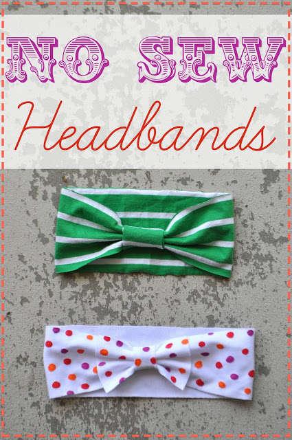 DIY No-Sew Headbands
