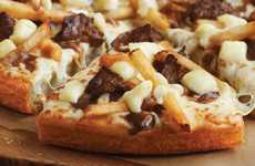 Poutine Pizzas - The Pizza Hut Poutine Pizza is the Ultimate Canadian Snack