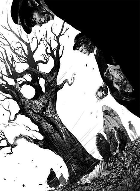 Dark Ominous Etchings