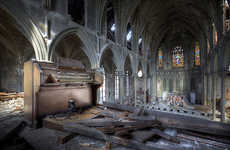 Abandoned Architecture Photography